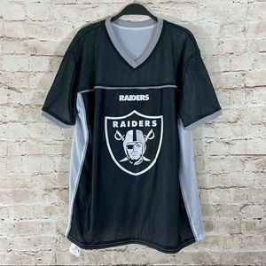Men's Oakland Raiders football reversible jersey